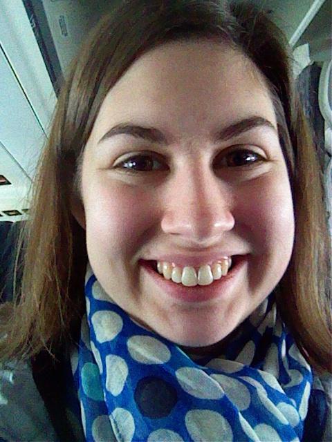 Pre-takeoff selfie