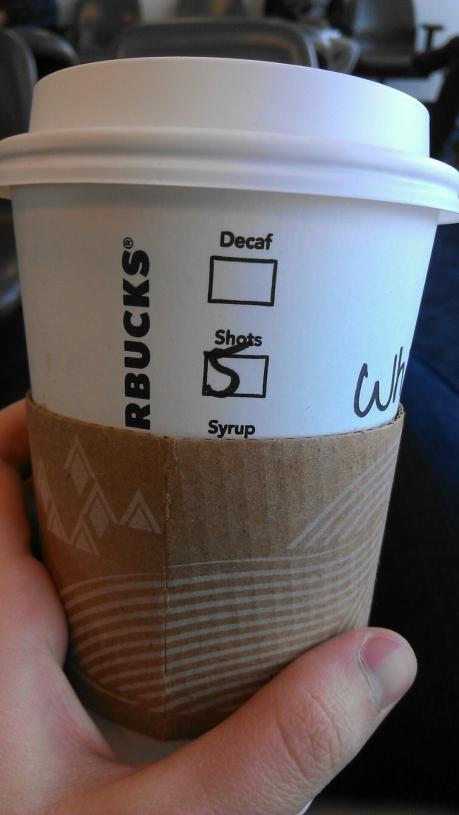 The five-shot latte