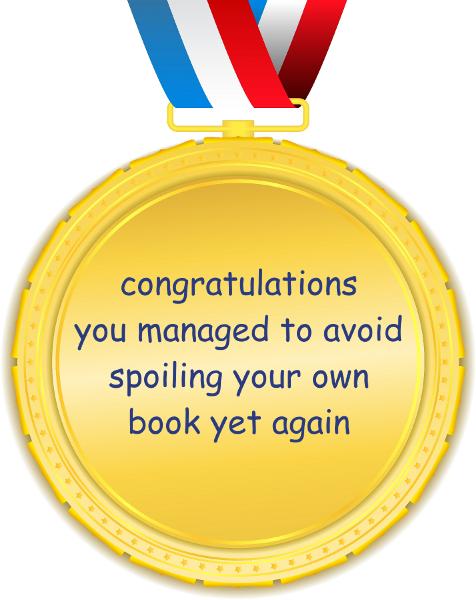 Gold freakin medal